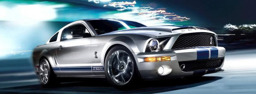 Mustang Car Facebook Cover