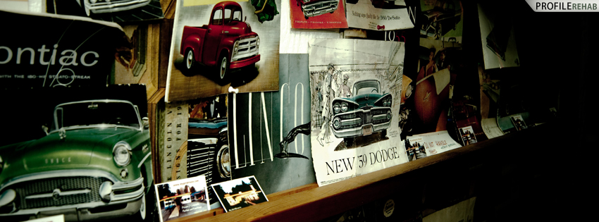 Old Cars Facebook Cover