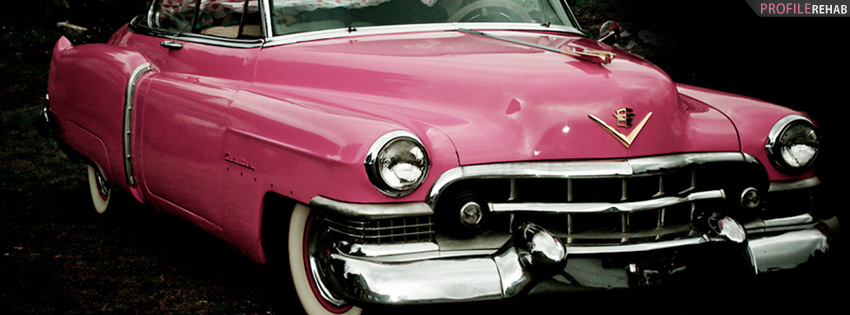 Pink Cadillac Facebook Cover