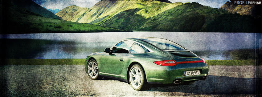 Green Porsche FB Cover for Timeline