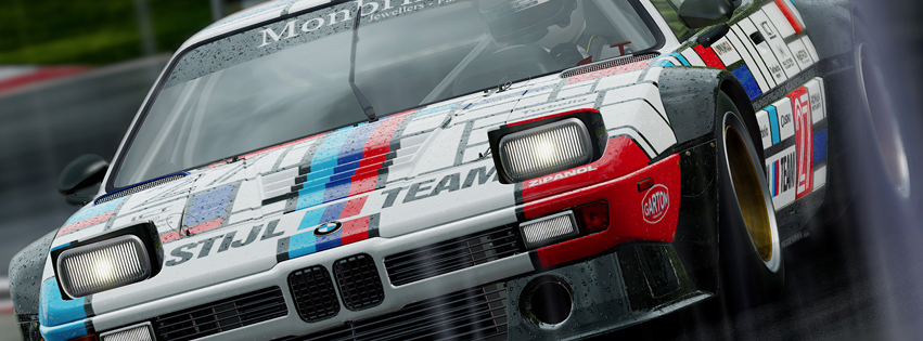 Project Cars Facebook Timeline Cover