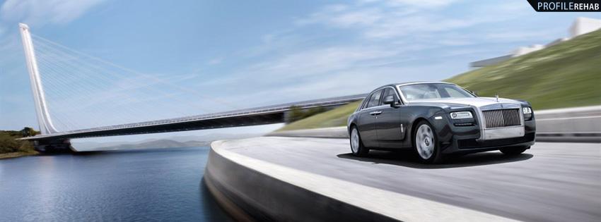 Rolls Royce Ghost Facebook Cover