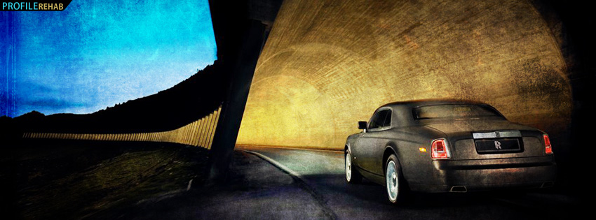 Cool Rolls Royce Facebook Cover