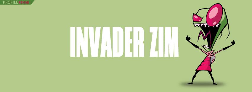 Invader Zim Cartoon FB Cover