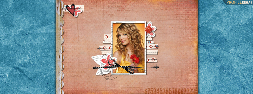 Cute Taylor Swift Cover for Facebook Timeline
