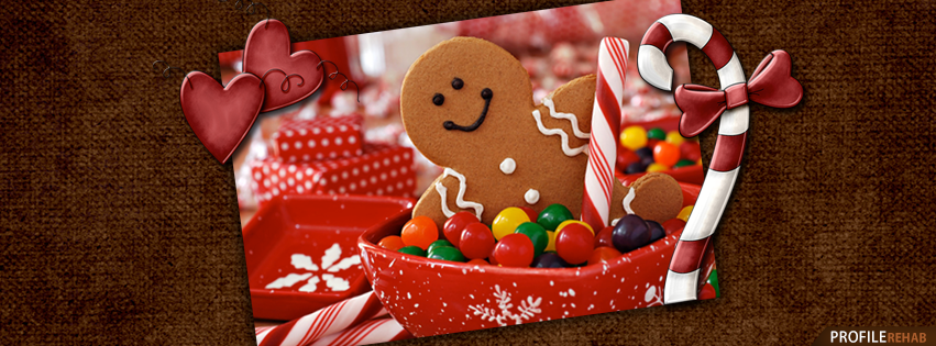 Gingerbread Man Images for Facebook Timeline Preview