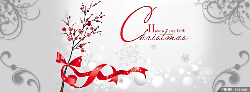 Merry Christmas Facebook Cover - Merry Christmas Cover Photo for ...
