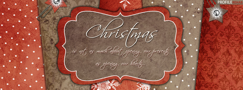 Christmas Quote Facebook Cover for Timeline - Christmas Quotes with Images