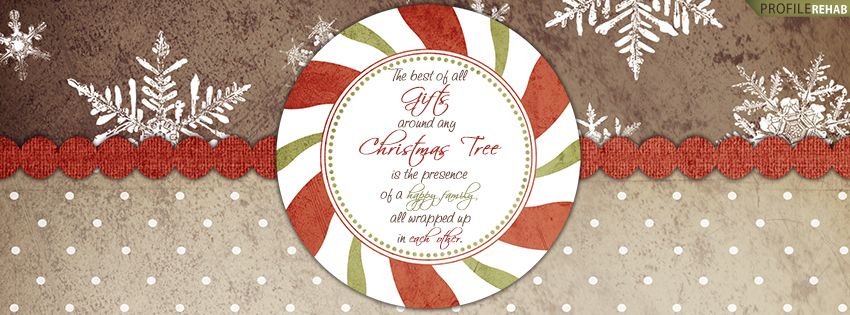 Christmas Quote Facebook Cover - Christmas Quote Images - Quote About Christmas