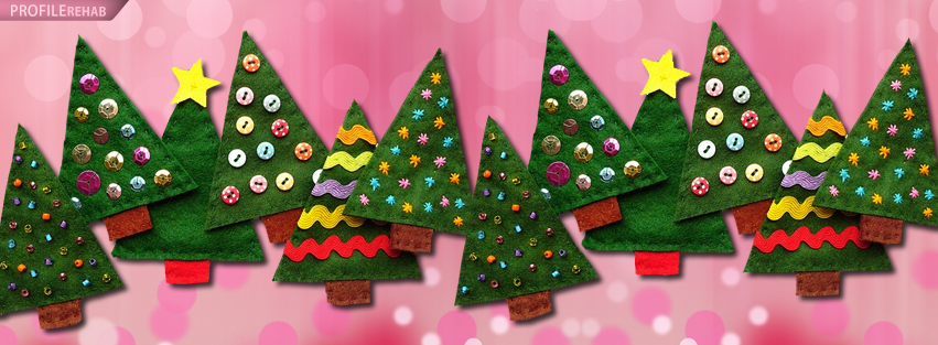 Christmas Tree Timeline Facebook Cover