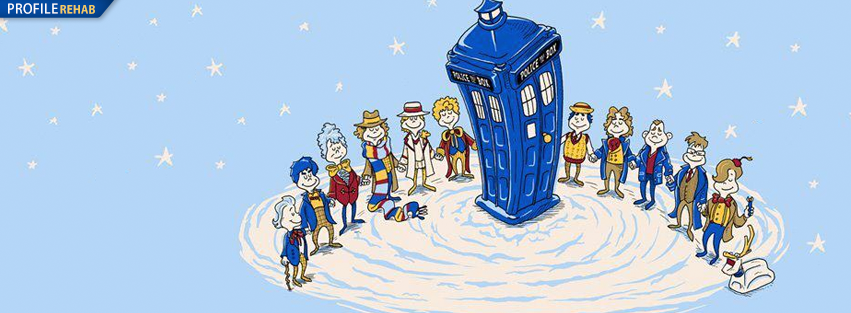 Dr. Who Christmas Tardis Cover