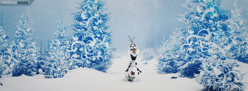 Frozen's Olaf Images Facebook Cover Preview