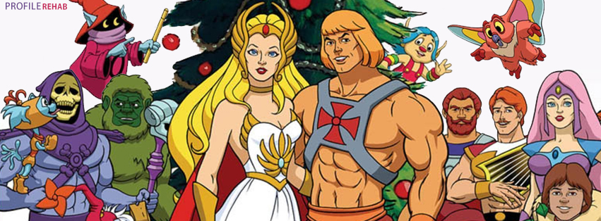 He-Man Christmas Facebook Timeline Cover