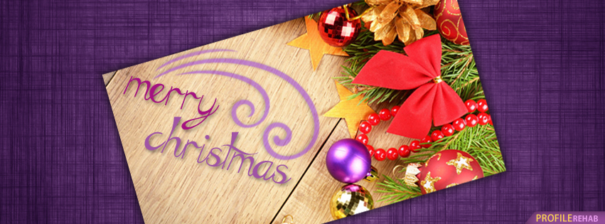 Purple Christmas Cover Photos for Facebook