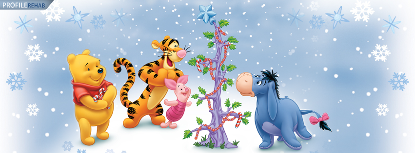 Winnie The Pooh Christmas Cover