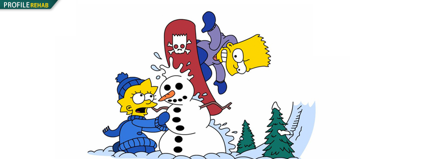 Simpsons Christmas Timeline Photo