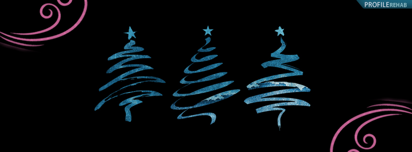 Unique Christmas Tree Fb Cover