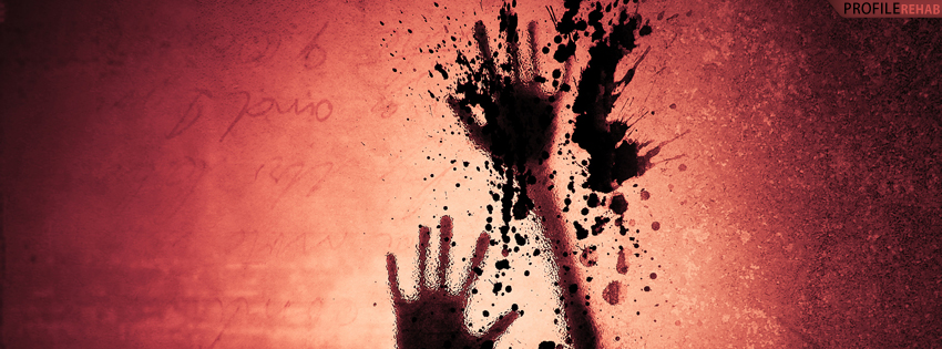 Dark Scary Facebook Cover for Timeline - Scary Halloween Images Free Preview