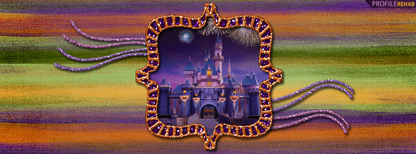 Sleeping Beauty Castle Disneyland Facebook Cover