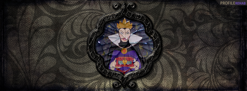 Snow White Evil Queen Facebook Cover