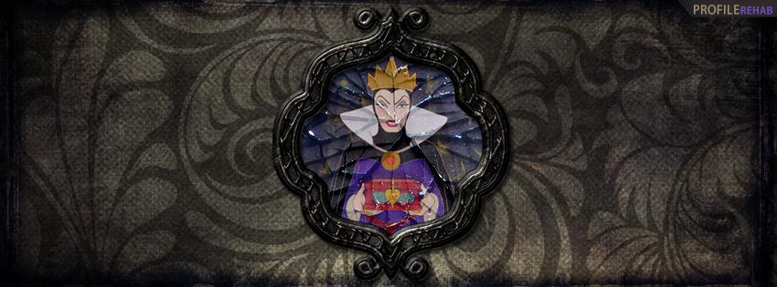 Snow White Evil Queen Facebook Cover