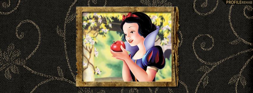 Vintage Snow White Facebook Cover