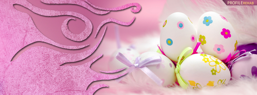 Pink Easter Egg FB Cover Pictures