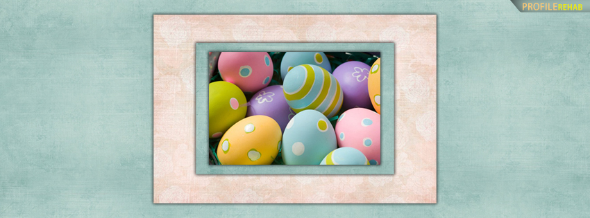 Pastel Easter Eggs Facebook Cover Photos - Pictures for Easter Preview
