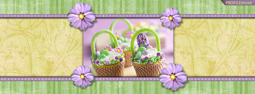 Purple and Green Easter Basket FB Cover Pictures - Pictures of Easter Baskets