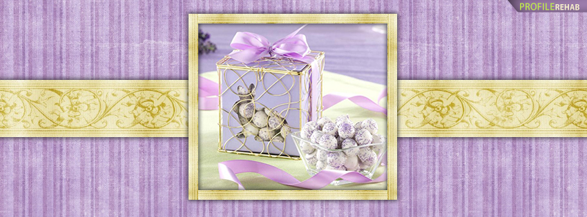 Purple and Gold Easter Facebook Cover Photos - Free Easter Pics Preview