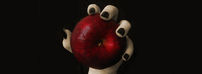 Evil Witch Snow White Apple Facebook Cover Preview