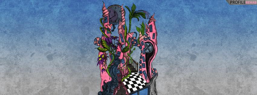 Fantasy Castle Cover for Facebook Timeline