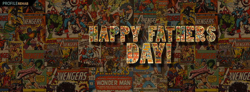 Free Happy Fathers Day Images for Facebook with Comics