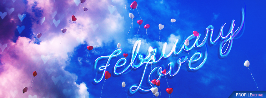 February Love Images - Cute February Cover Photos - Pictures of February for FB