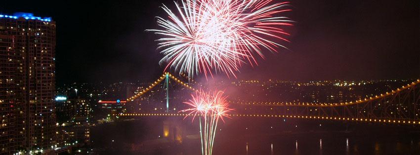 bridge fireworks cover 4 اغلفة السنة الجديدة 2015 اغلفة فيس بوك للسنة الجديدة 2015