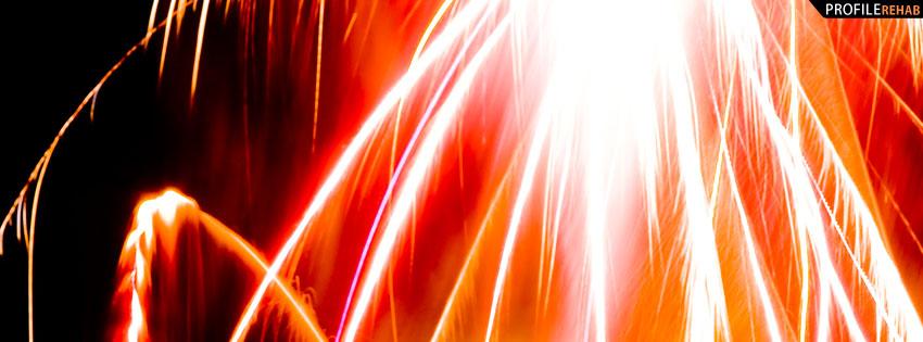 Cool Fireworks Facebook Cover