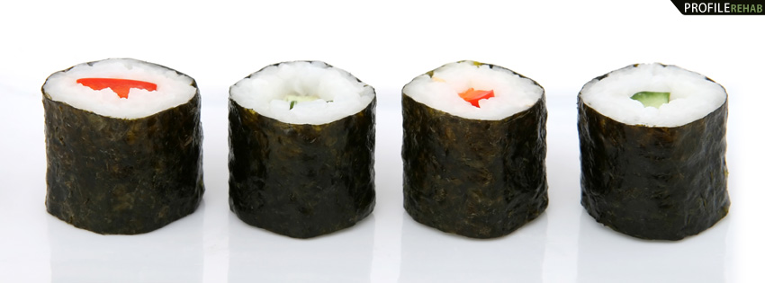 Sushi Facebook Cover for Timeline