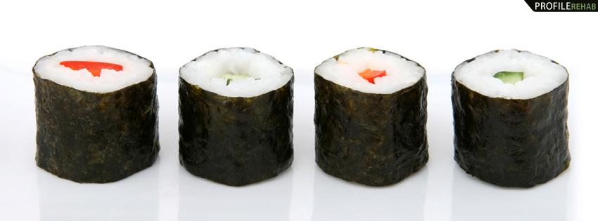 Sushi Facebook Cover for Timeline