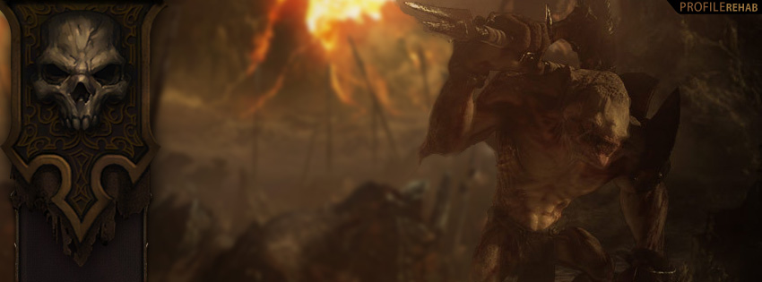 Diablo 3 Art Facebook Cover