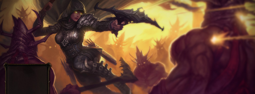 Diablo 3 Demon Hunter Facebook Cover