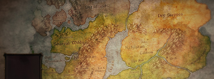 Diablo 3 Map Facebook Cover