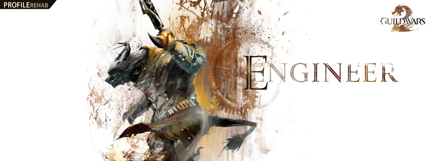 Guild Wars 2 Engineer Facebook Cover