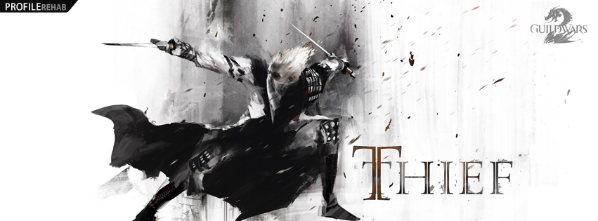 Guild Wars Thief Facebook Cover