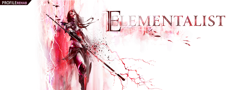 Guild Wars 2 Elementalist Facebook Cover
