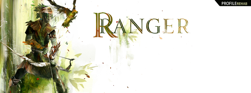Guild Wars Ranger Facebook Cover