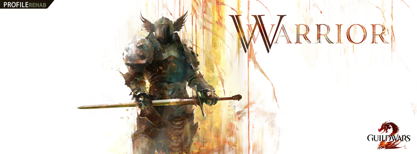 Guild Wars 2 Warrior Facebook Cover