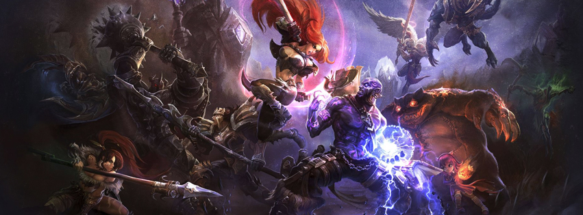 League of Legends Facebook Cover Preview
