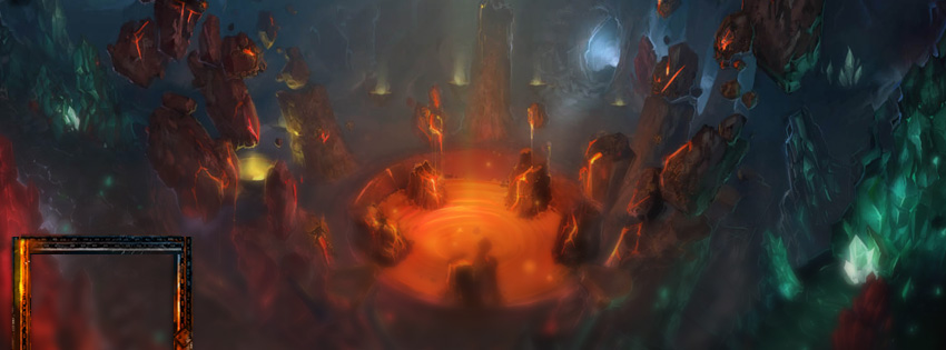 World of Warcraft Deepholm Facebook Cover