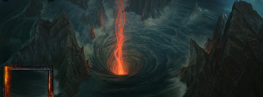 World of Warcraft Maelstrom Facebook Cover