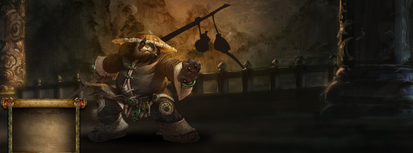 World of Warcraft Panda Facebook Cover